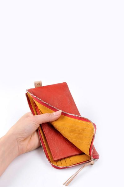 Baggy Port LKYP Wallet red