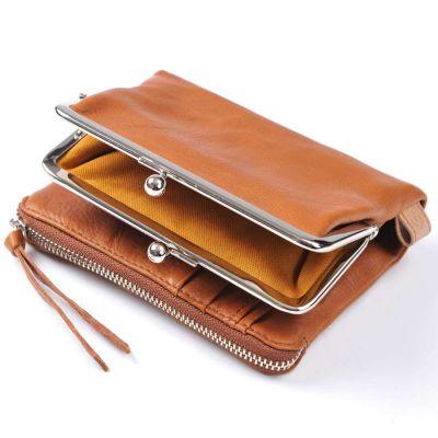Baggy Port LKYP Tri-fold-purse brown