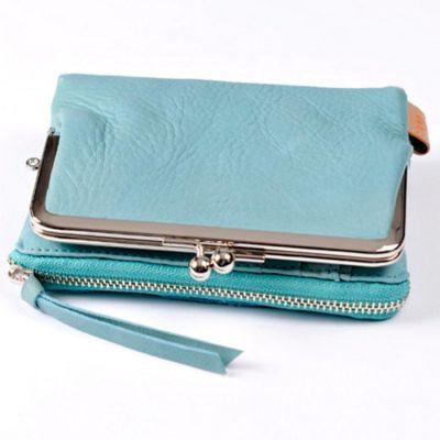 Baggy Port LKYP Tri-fold-purse blue