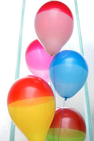 100% Natur Kautschuk Ballone