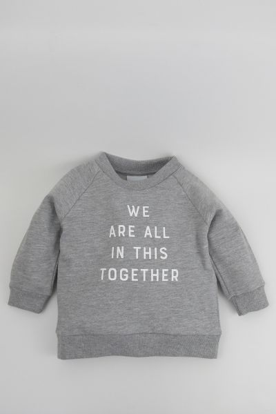 mmies Kids Sweatshirt Together grau