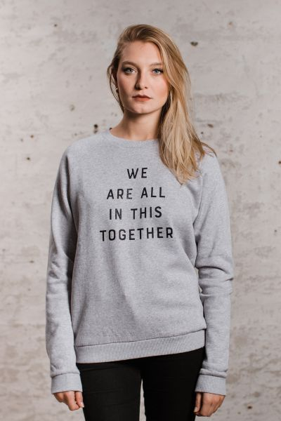 mmies Unisex Sweatshirt Together grau